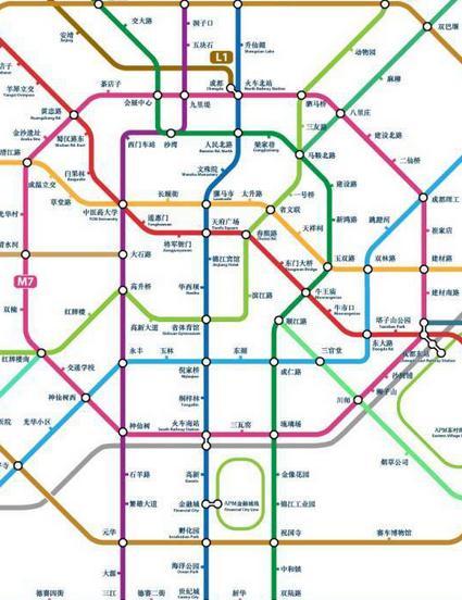 成都地铁5号线预计年内开建