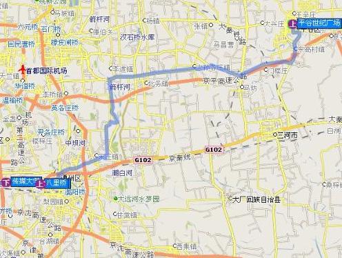 北京地铁平谷线什么时候开通图片