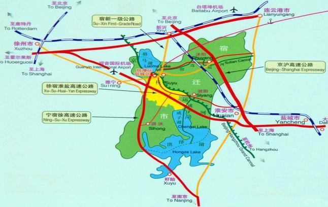 宿淮盐铁路最新规划图