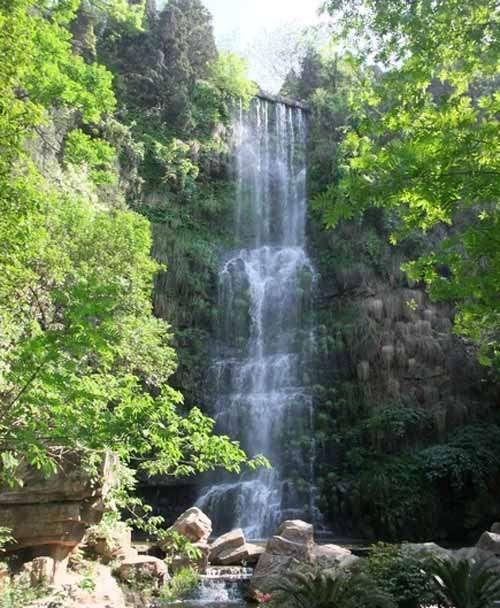 壁纸 风景 旅游 瀑布 山水 桌面 500_608