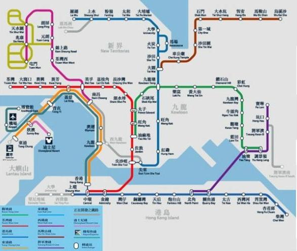 东莞地铁2号线线路图汇总 公交资讯图片