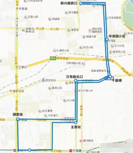 西安开通181路公交1