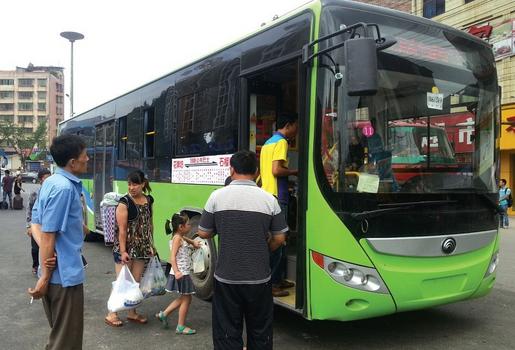 2016茶山茶园游会公交临时调整1