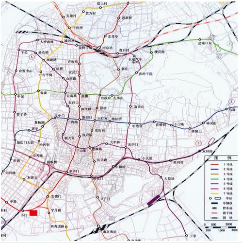 南京地铁9号线最新线路图