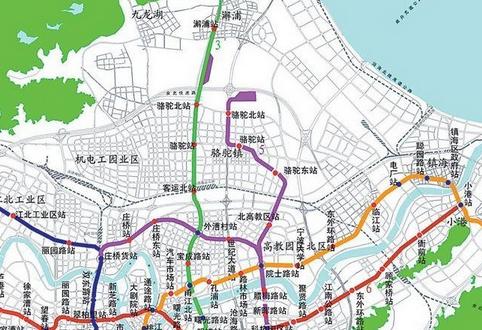 宁波地铁3号线站点叫什么图片