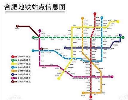 合肥地铁5号线线路图图片