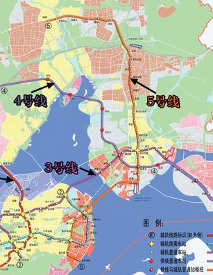 厦门地铁5号线最新线路图