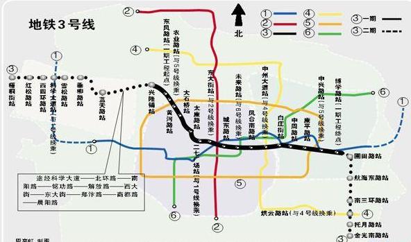 郑州地铁3号线开工时间