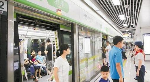 杭州地铁新塘站开通图片