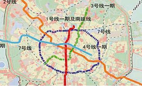 成都地铁5号线开工图片