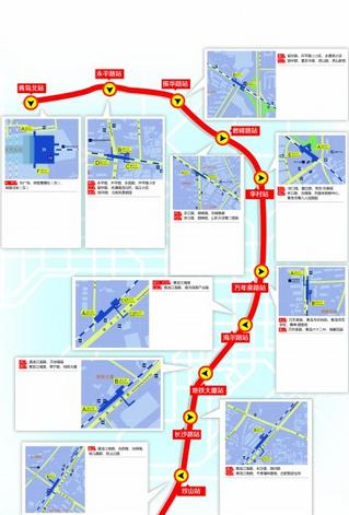 青岛地铁3号线北段线路图图片