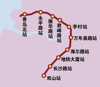 青岛地铁三号线北段最新消息图片