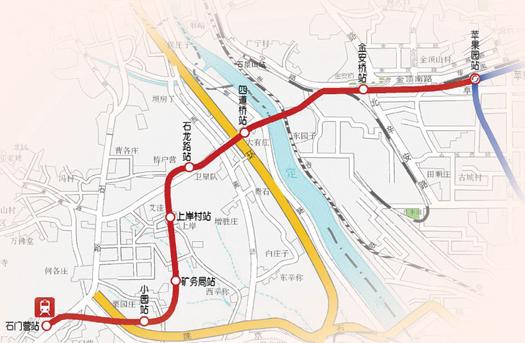 北京地铁s1线规划图图片