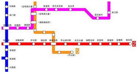 苏州地铁2号线延伸段将试运营图片