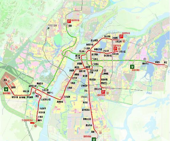 南昌地铁4号线站点图