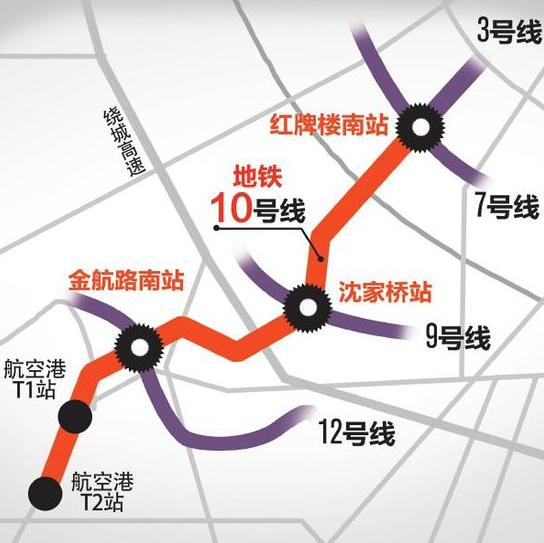 成都地铁10号线最新线路图图片