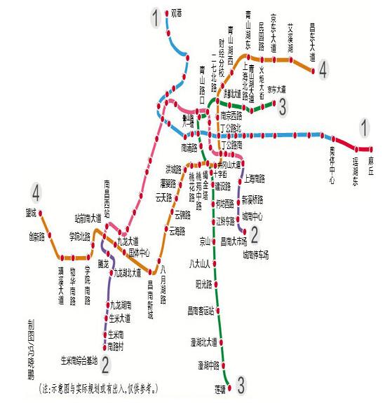 南昌地铁3号线最新消息图片