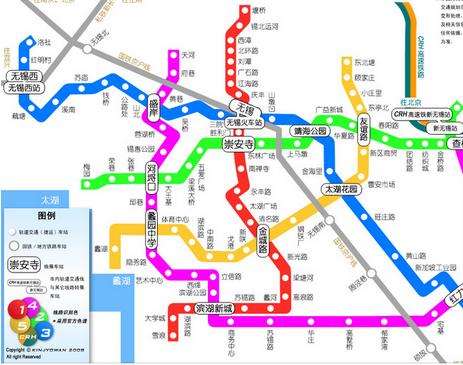 無錫地鐵將實施新運行圖