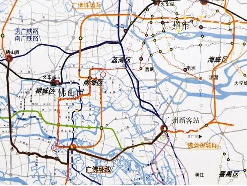 广佛环线最新线路图图片