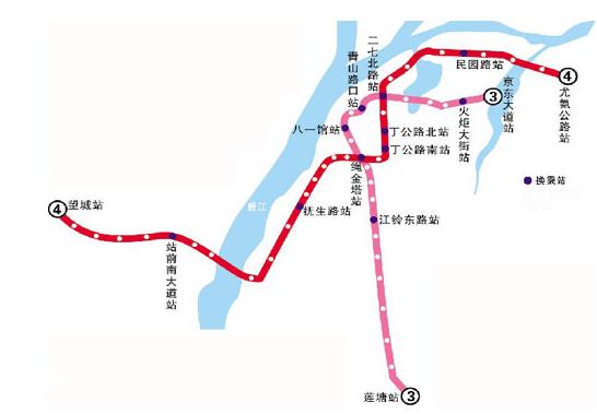 南昌地鐵4號線站名