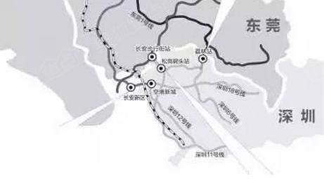 东莞地铁2号线月底试运营图片