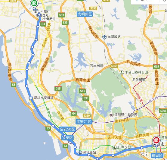 深圳11号线线路图图片