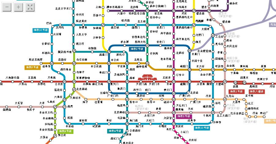 北京地铁共有多少条线图片