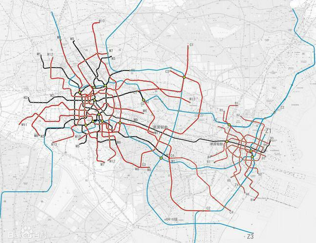 天津地铁11号线规划