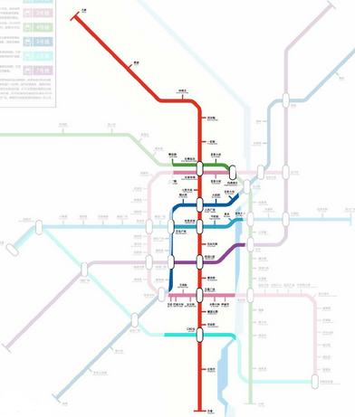 长春地铁1号线线路图