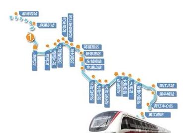 东莞地铁1号线站点