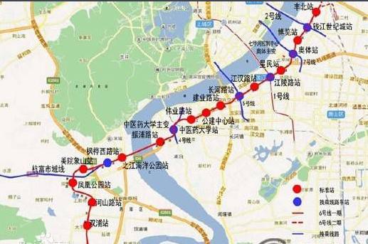 杭州地铁6号线进展