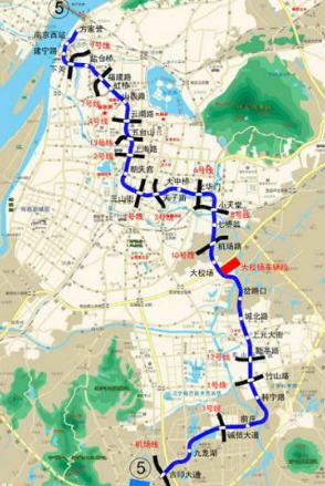 南京地铁五号线最新消息1