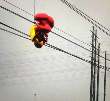 4.10上海地铁1号线因气球缠绕最新消息1