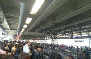 2017年4月14日上海地鐵故障最新消息