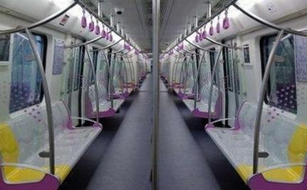 2017年6月28日广州地铁试行女性车厢