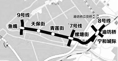 南京地鐵2號線西延站點
