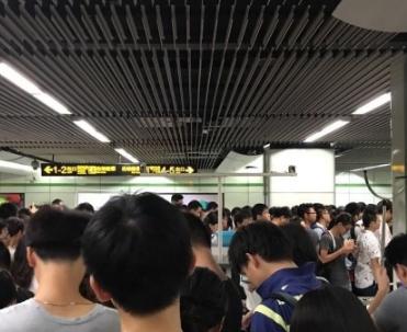 2017年8月21日上海地鐵故障最新消息