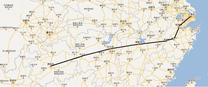 杭州到厦门高铁