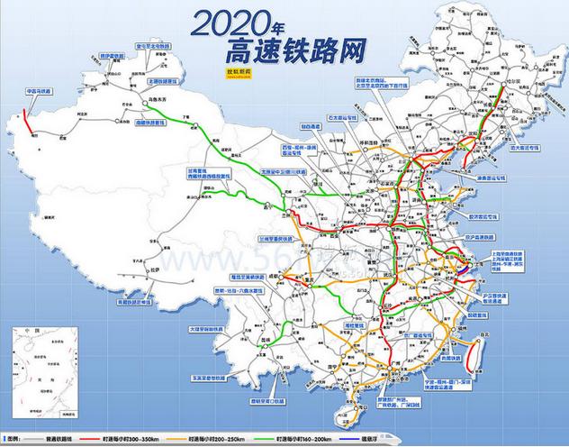 中国高铁基本线路图图片