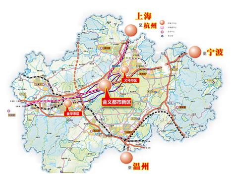 甬金铁路规划图