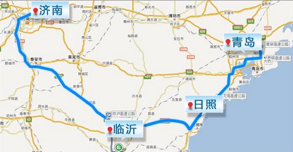 济青高铁北线规划图