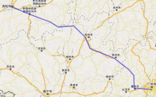 贵广高速铁路通车时间