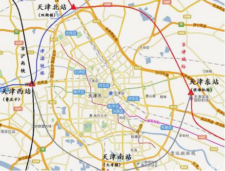 京津城际二线规划图_高铁最新消息