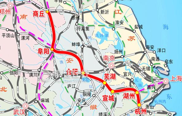 成都铁路局规划图_商合杭高铁规划图_高铁最新消息