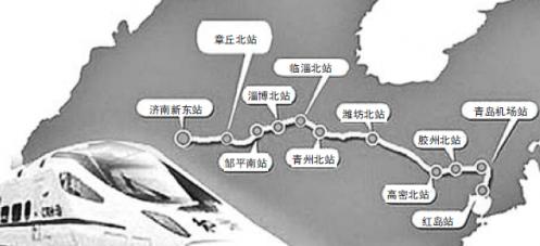烟台到连云港高铁