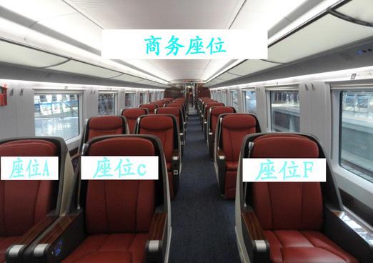 高铁和动车座位的区别