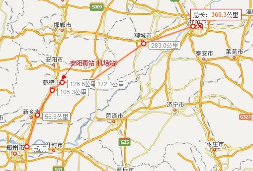 郑济高铁最新规划图
