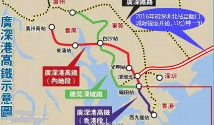 乘坐广深港高铁第一次去香港需要注意什么?