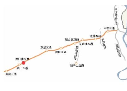 长韶娄高速公路地图