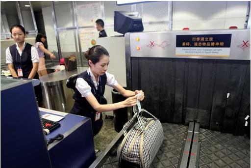 坐飞机托运行李的流程
